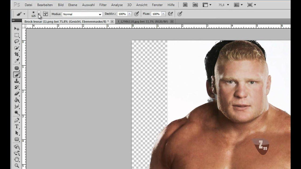 Photoshop Tutorial Deutsch Gesichter austauschen - YouTube