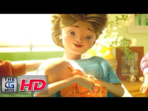 "CGI 3D Animated Short: ""Rosemarie's Life"" - by Roof Studio 