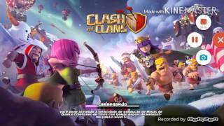 """""""Clash of clans"""" dando 3 estar facilmente"""