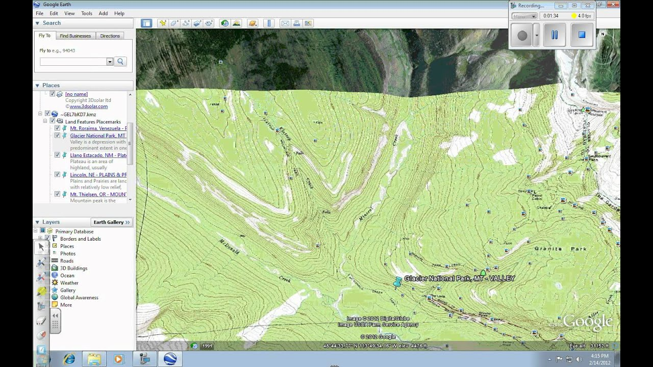 Google Earth Adding Topo Map Layer YouTube - Us topo maps for google earth