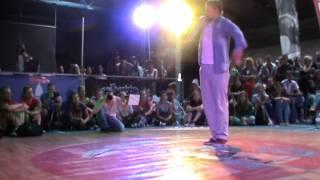 Ghetto Dance Ventspils 2013 / Popping quarterfinal / Sonya vs Sheva