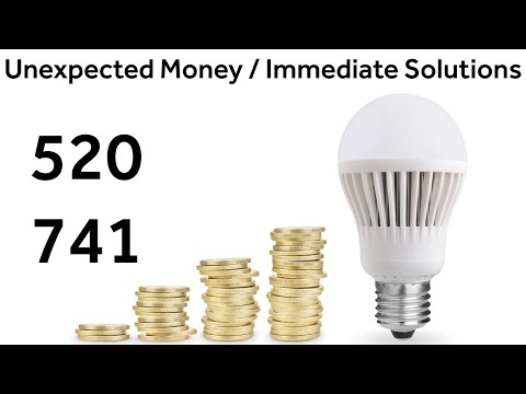 Grabovoi Numbers - Unexpected Money Immediate Solutions - 520 741(with activation!)