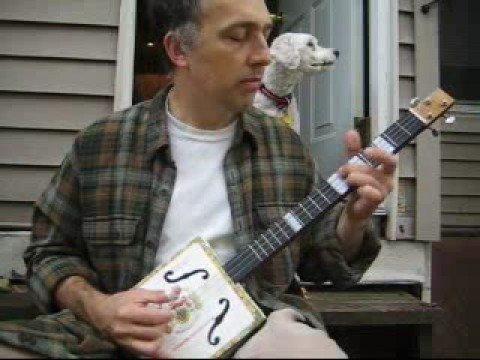 playing cigar box guitar videos 1