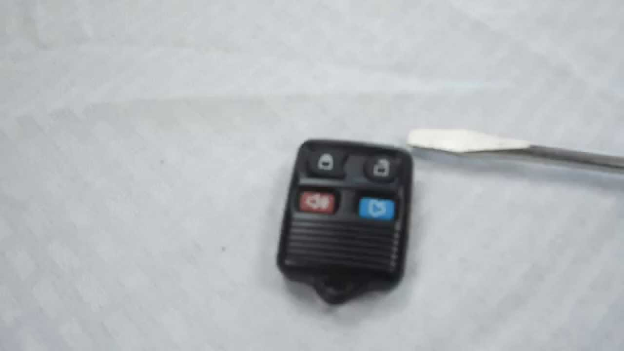 how to replace ford explorer key fob battery 1998 2012 [ 1280 x 720 Pixel ]