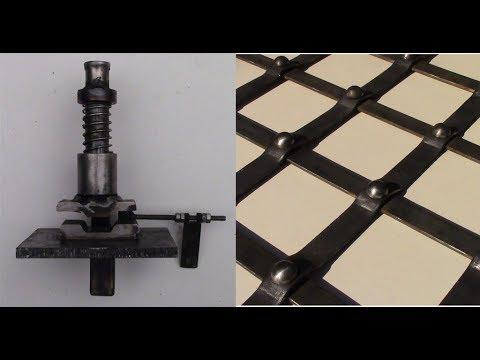 Piegatrice Per Pressa Fai Da Te Homemade Press Brake