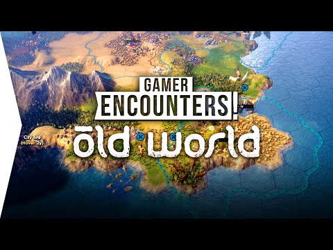 Civ 6 Competitor! ► OLD WORLD - 4X Gameplay Like Civilization & Crusader Kings - [Gamer Encounters]