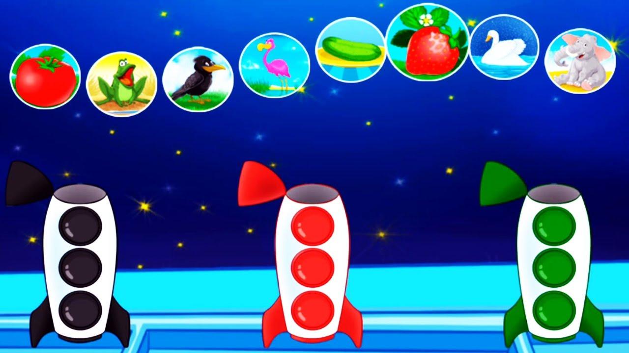 Lernen Sie Farben Lernen Сolors Spiele für Kinder Lernen Spiele für ...