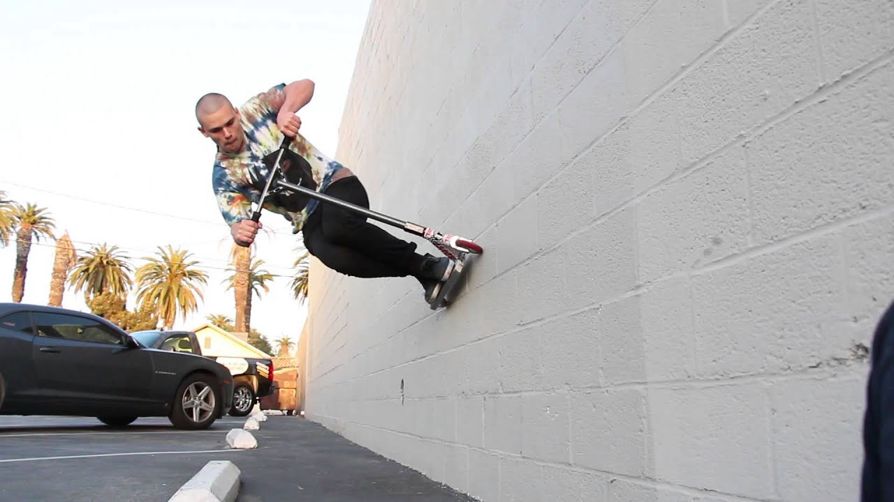 Stunt Wallpaper Hd The Vault Pro Scooters How To Wallride With Tyler