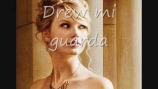 Teardrops On My Guitar - Taylor Swift Traduzione