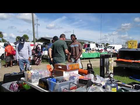 Fast Cash At The Flea Market!
