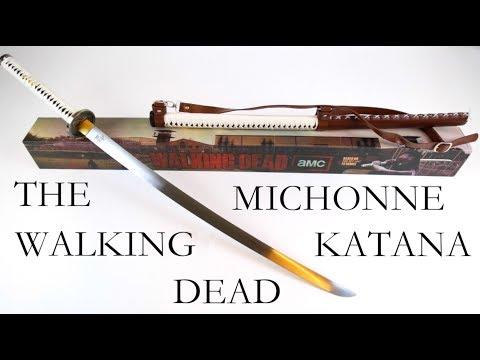 The Walking Dead - Michonne´s Katana - handgeschmiedet [40237]