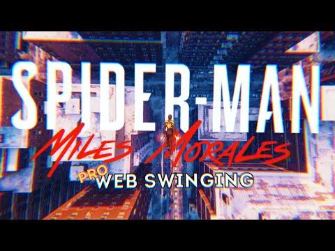 Icon - Jaden | Stylish PRO Web Swinging to Music 🎵 (Spider-Man: Miles Morales)