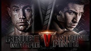 ANTOINE PINTO - THAILAND VS BRUCE MACFIE - AUSTRALIA - THAI FIGHT CRMA 2015