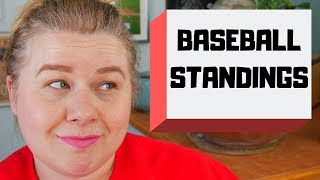 Baseball Standings and Games Back - Baseball Basics
