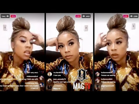 Keyshia Cole Can't Go On Stage At The R. Kelly Concert In Jackson, MS  On IG Live! 😡