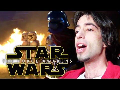 REACTION #starwarstrailer - Star Wars: The Force Awakens Trailer - ¡ LLORANDO !