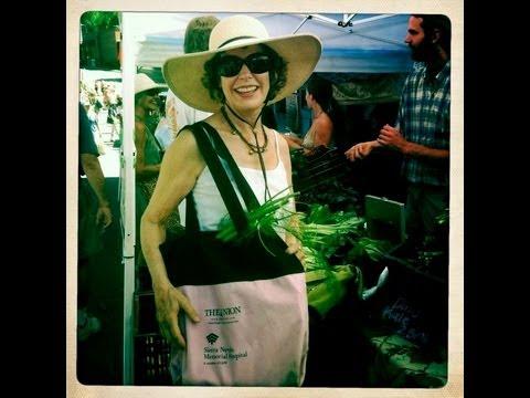 Nevada City Farmers Market:  Green People, Kohlrabi & Kale Chips