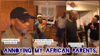 Annoying My African Parents | TikTok Compilation