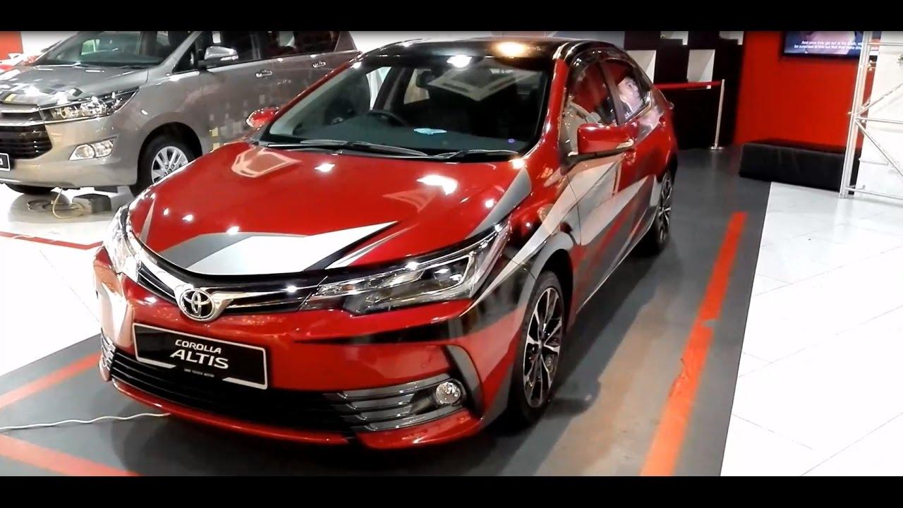 Toyota Corolla Altis 2 0v 2017 Exterior Interior Youtube