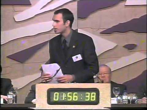 Albert Rivera debate prostitución LNDU 2001