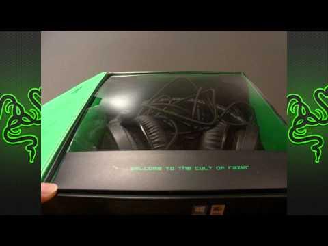 Unboxing/Review Special! - Razer Kraken Pro 7.1 Headet!