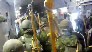 3 PPCLI CC-117 Globemaster Airborne sustainment