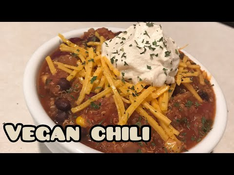 Healthy Vegan Quinoa Chili Recipe