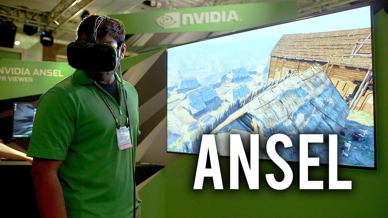NVIDIA Ansel - Photo Studio for PC Games! - VideoGate Quebec