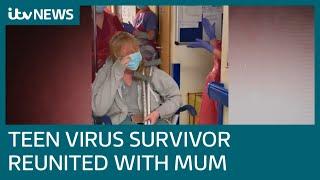 Teenage coronavirus survivor: Covid-19 feels like you're drowning | ITV News