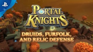 Portal Knights | Druids Furfolk and Relic Defence Launch trailer | PS4