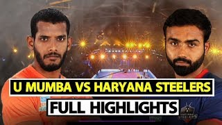 Watch: Pro Kabaddi League: Haryana Steelers Beat U Mumba 35-31 | Sports Tak