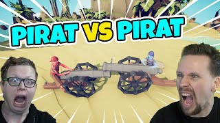 PIRAT vs PIRAT | TABS med figgehn (Totally Accurate Battle Simulator)