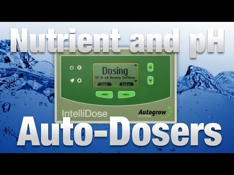 Nutrient and pH Auto-dosers for Hydroponic Gardens - Hydrobuilder.com