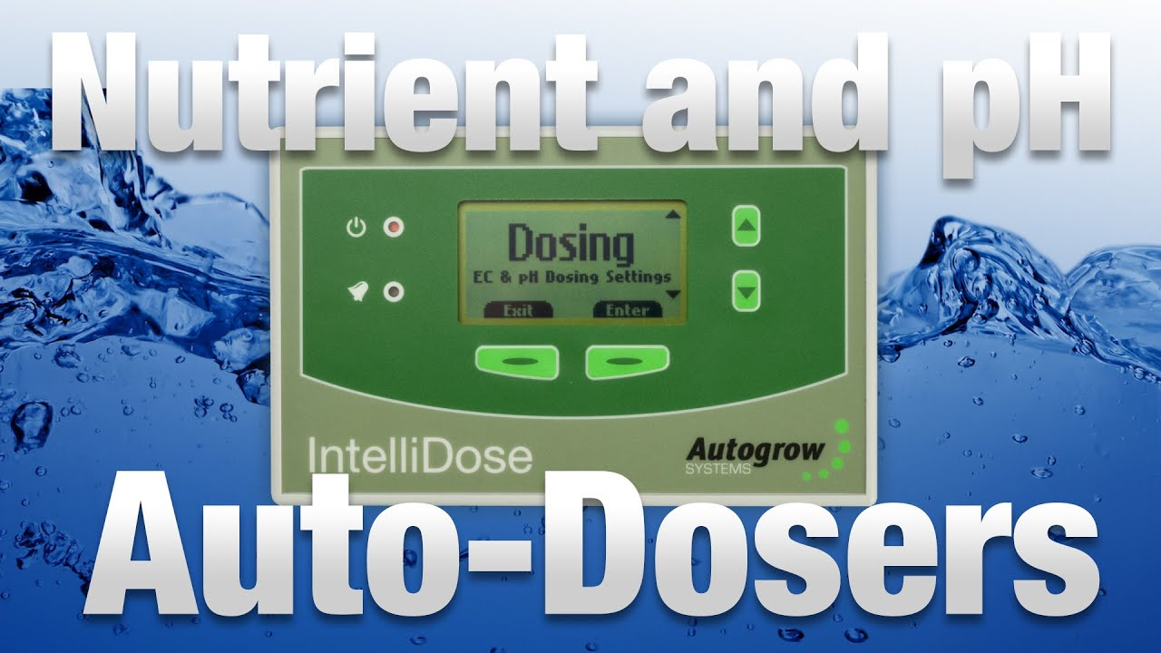 Nutrient and pH Auto-dosers for Hydroponic Gardens - Hydrobuilder com