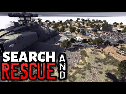 Search & Rescue - APACHE ASSAULT - Call To Arms