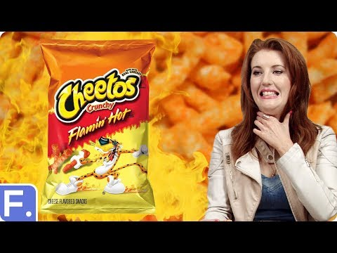 Irish People Try Cheetos For The First Time