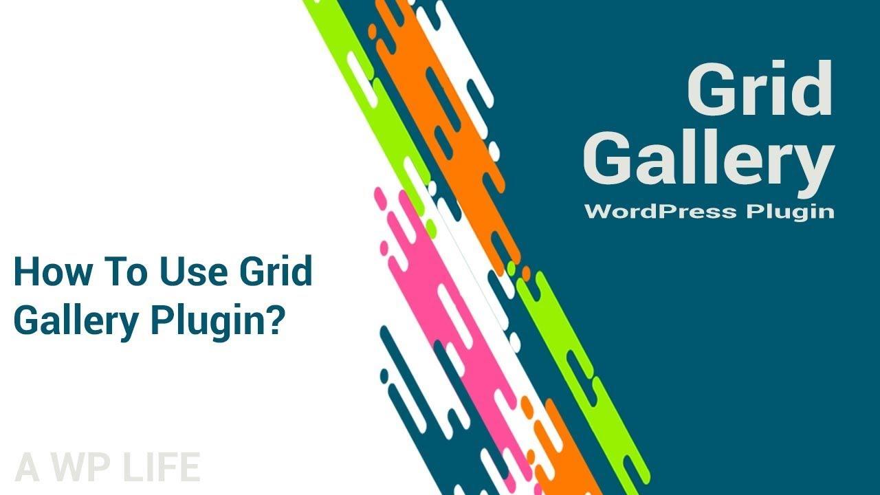 Grid Gallery – Photo Gallery, Image Slider Grid – WordPress plugin