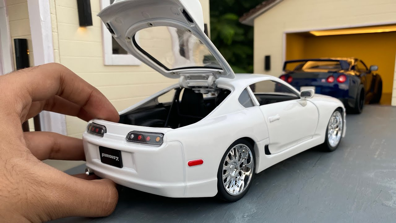 Mini Toyota Supra Mk 4 Diecast Model Car Unboxing | Fast & Furious 7 | Toyota Official