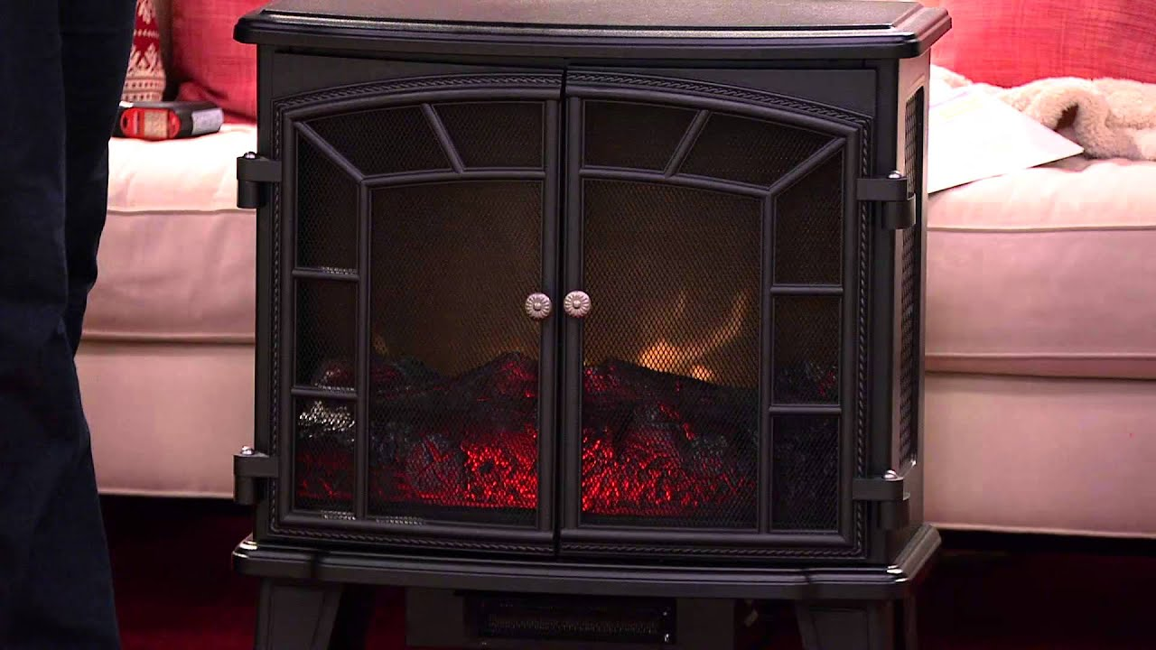 Ships 11/21/14 Duraflame Large Electric Stove Heater w/ Screen ...