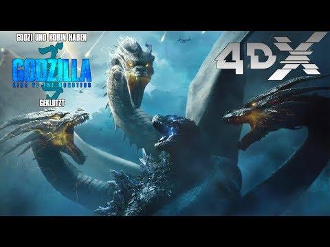 """Godzi Und Robin Haben """"Godzilla 2: King Of The Monsters"""" Geklotzt"""