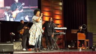 Gerald & Tammy Haddon   Erica Campbell L A  Concert 1
