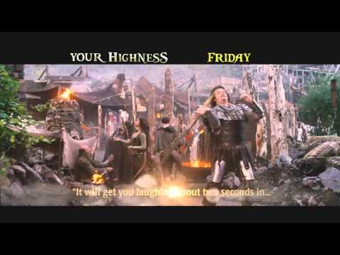 """Your Highness - TV Spot: """"Laughing/Review/Thong"""""""