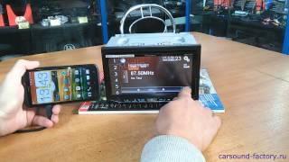Как подключить Android телефон к магнитоле Pioneer(Подробное подключение смартфона на андройде к магнитоле пионер., 2014-10-24T11:05:11.000Z)