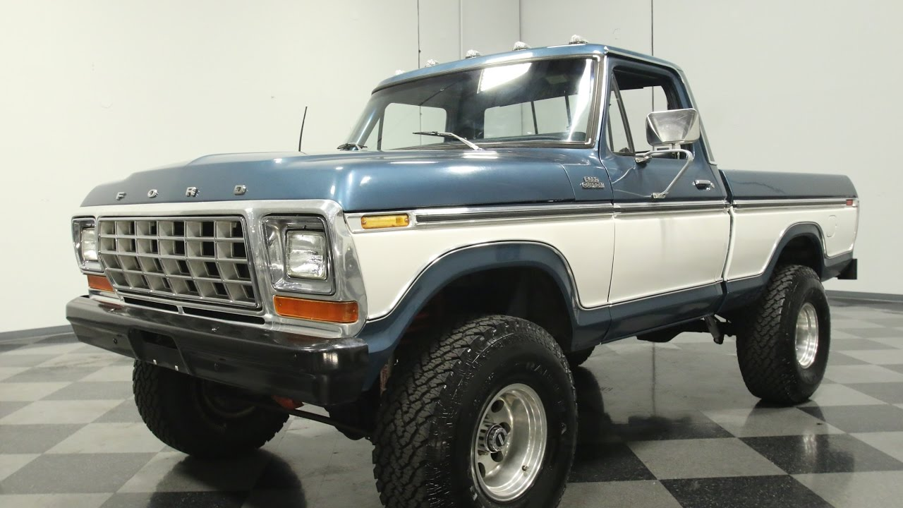3577 Atl 1979 Ford F 100 4x4