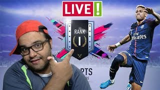 🔴 FIFA 19   DIVISION RIVALS AO VIVO   EM BUSCA DO RANK 1 DA 4ª DIVISÃO   AQUI TEM RAGE  