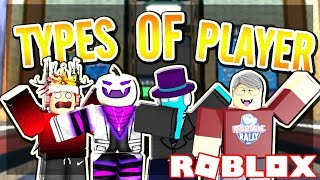 5 TYPES PLAYERS IN FLOOD ESCAPE 2 (Roblox)