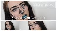 COMIC BOOK MAKE-UP TUTORIAL CZ