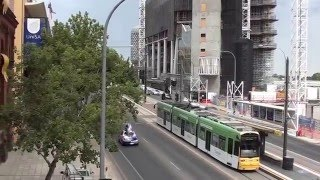 Work started new Health Research and University Building North Terrace Adelaide CBD Video Jan 2016
