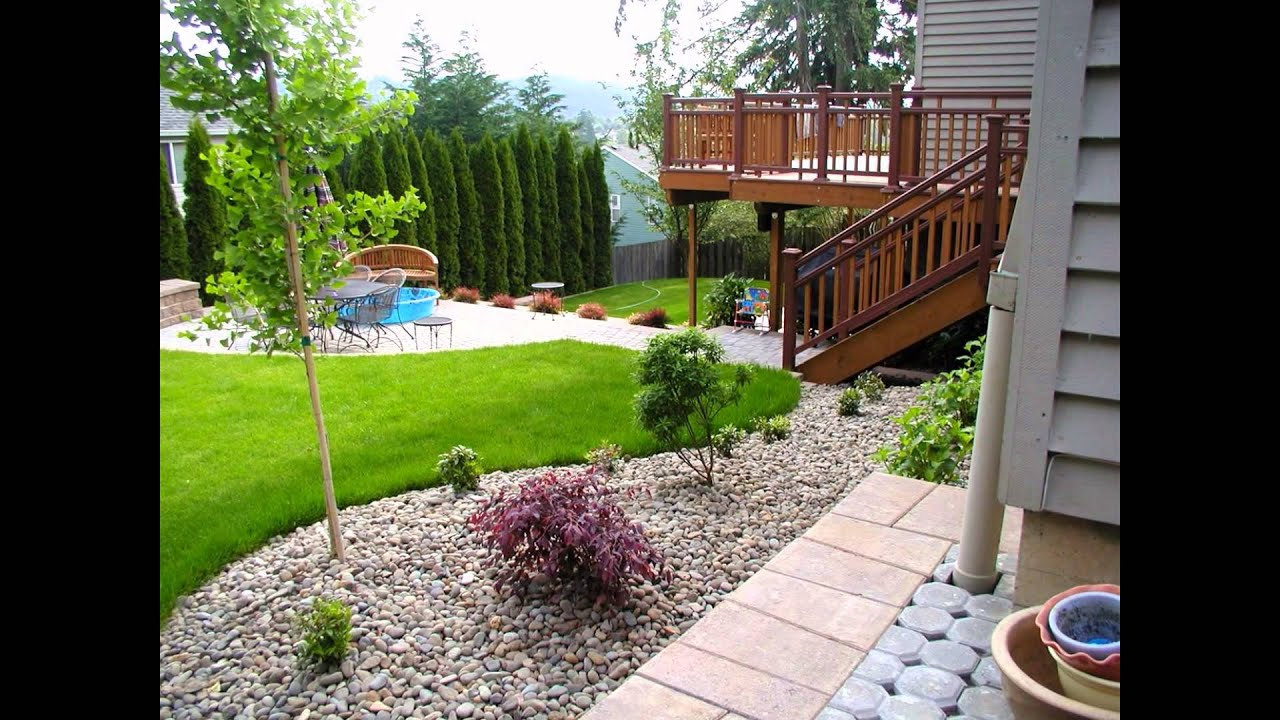 landscaping ideas for small backyards youtube