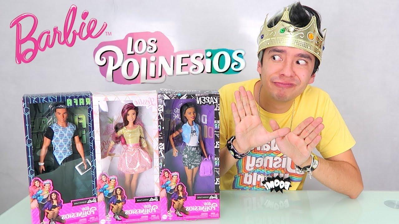 Abriendo las Barbies de LOS POLINESIOS *TE LOS REGALO* - Juguetes vs Ami